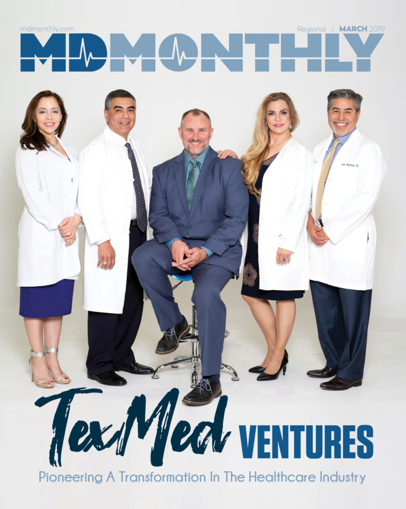 MD Monthly March- TexMed Cover