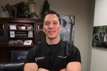 Dr. Steven Cyr of The Orthopedic and Spine Institute