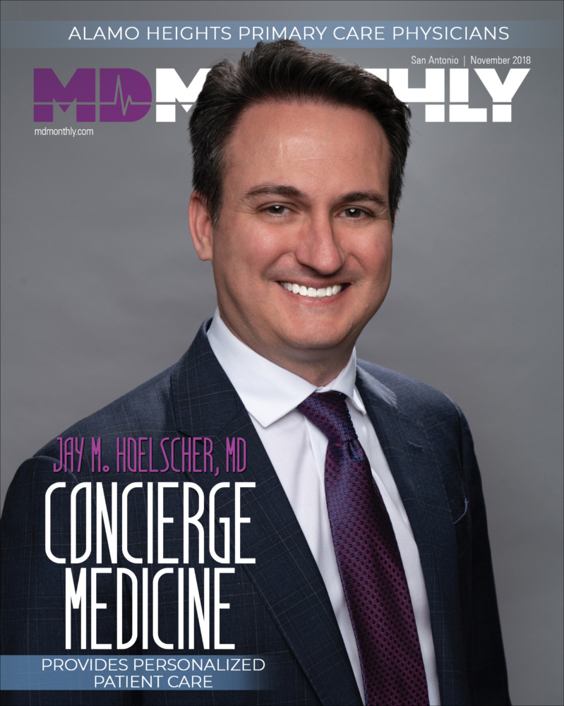 Dr. Jay Hoelscher | MD Monthly Cover Feature