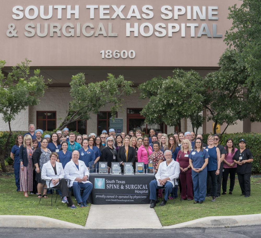 Your healing begins with south texas spine & surgical