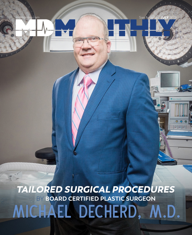 MD Monthly Cover - Michael Decherd