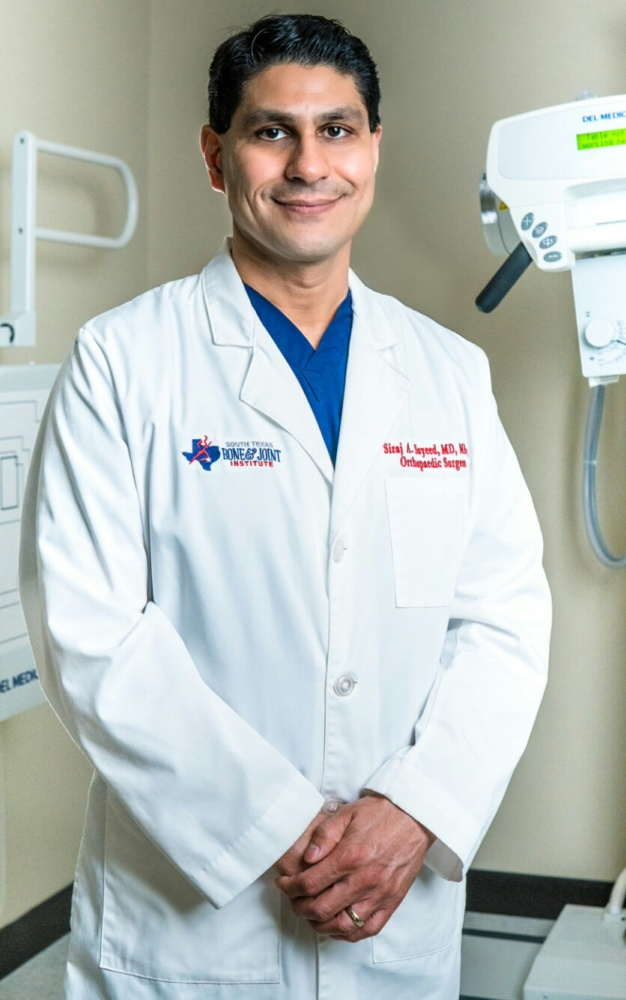 Trusted Bone and Joint Specialist, Dr  Siraj Sayeed - MD Monthly