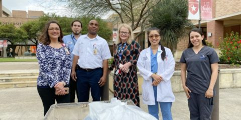 San Antonio Collecting Supplies For Health Care Providers