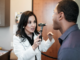 Dr. Erika Gonzalez with a patient at South Texas Allergy and Asthma Medical Professionals (STAAMP Allergy)