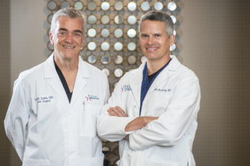 Dr. Browning & Dr. Lewis at Texas Dermatology