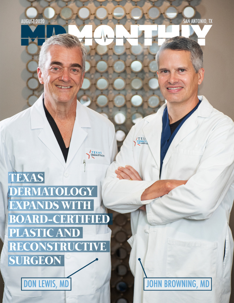 TX Dermatology Welcomes Plastic Surgeon on MD Monthly Cover